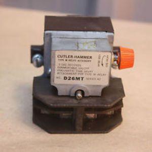 Eaton D26MR005A D26 Series AC Relay