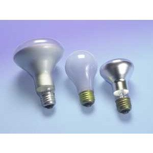 SYLVANIA 120BR/GROW/3/RP-120V Incandescent Reflector Lamp, Spot-GRO, BR40, 120W, 120V