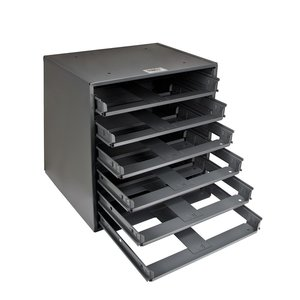 Klein 54476 6-Box Slide Rack