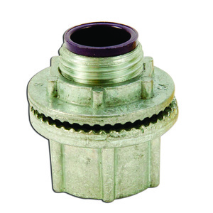 "Appleton HUB50DN Conduit Hub, Threaded, 1/2"", Insulated, Raintight, Zinc Die Cast"