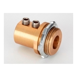 "Bridgeport Fittings MCC-100 Enclosure Grounding/Bonding Connector, Size: 1"", Material: Brass"