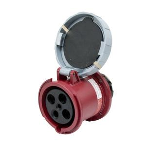 Leviton 460R7W 58 Amp, 480 Volt Receptacle, Watertight