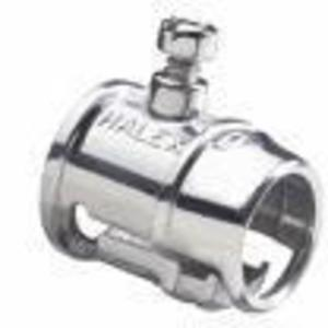 """Cooper Crouse-Hinds 153P 1 1/4"""" Malleable Iron; Set-Screw Straight Connector- Non-Insulated"""