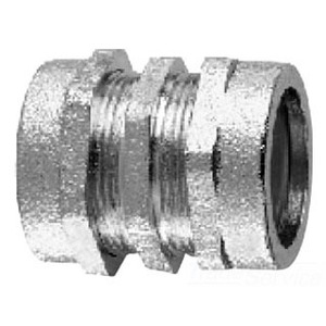 "Cooper Crouse-Hinds CPR27 Rigid Compression Coupling, Size: 2-1/2"", Material: Malleable Iron"