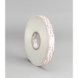 3M 4930(3/4X72YD) Tape, White 12/Case