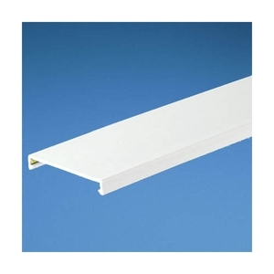 """Panduit NC4WH6 Halogen-Free Wiring Duct Cover, for 4"""" Wide PANDUCT, White, 6'"""
