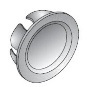 "Appleton KO-50 Knockout Seal, 1/2"", Snap-In, Steel"