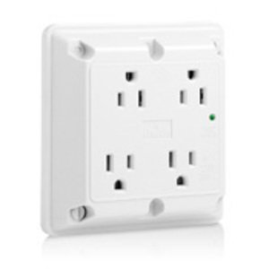 Leviton 5480-W 4-in-1 Receptacle, White