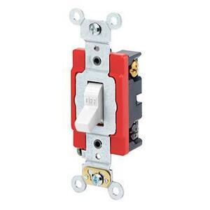 Leviton 1224-2W 4-Way Toggle Switch, White