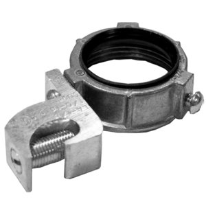 "Appleton GBL-700 Grounding Bushing, 2-1/2"", Threaded, Insulated, Zinc"