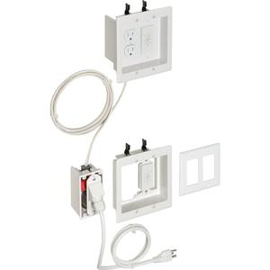 Arlington TVBRA2K TV Bridge Kit 2-Gang Pre-Wired, Limited Quantities Available