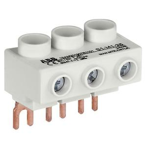 ABB S1-M1-25 3phase Power Feed Block Flat Ms116/132