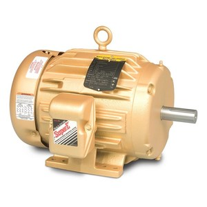 Baldor EM2333T-G Shaft Grounding Motor, 3-Phase, 4-Pole, Iron