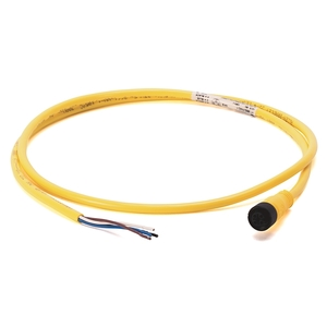 Allen-Bradley 889D-F4AC-5 Cordset, DC Micro QD, 4 Pin, Straight, Female, 5m, Yellow
