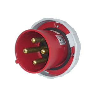 Leviton 4100B7W 100 Amp, 480 Volt Plug, Watertight