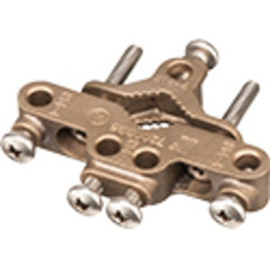 "Arlington 720GBB5 Grounding Bridge Clamp, Pipe Size: 1/2 - 1"", Material: Bronze"