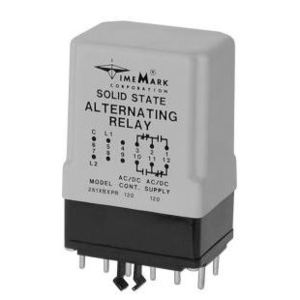 Time Mark 261XBXPR120 Alternating Relay, Single Pole, 120V AC/DC Supply, 90-130V Range