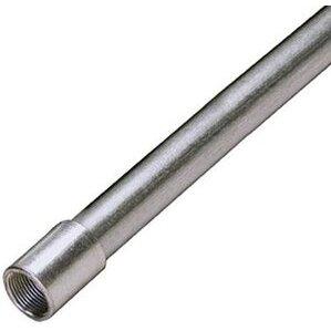 """Multiple 125 Rigid Conduit, 1-1/4"""", Galvanized Steel, 10'"""