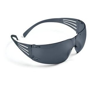 3M SF202AF-EA SecureFit Protective Eyewear, Frameless, Gray