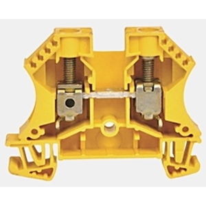 Allen-Bradley 1492-J6FB2120 Terminal Block, Fused, 10A, 60 - 150V AC/DC, Single Circuit, LED