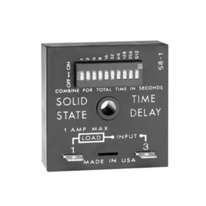 SSAC TDUL3000A Solidstate Timer .1s-102.3s