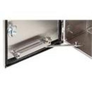 "Hoffman ADSTOPKSS6 Door Stop Kit, ""B"" Dimension: 16"", NEMA 4/12, Stainless Steel"