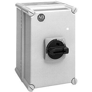 Allen-Bradley 194E-KA16E-PD10 Disconnect Switch, Enclosed, 16A, 690VAC, 3P, NEMA 3/4/4X