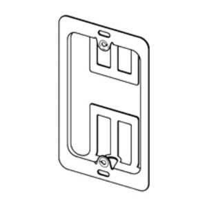 Cooper B-Line BB10 Mounting Bracket, 1-Gang, Low Voltage, Nail-On, Metallic
