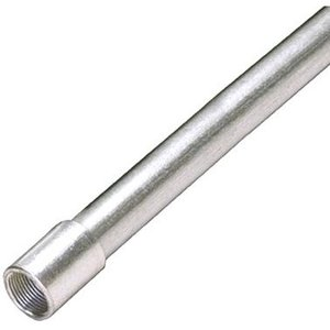 "Multiple 250 IMC Conduit, 2-1/2"", Galvanized Steel, 10'"