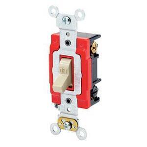 Leviton 1223-2I 3-Way Toggle Switch, Ivory