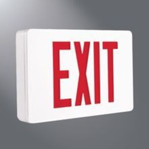 Sure-Lites CX71WHSD LED Exit, Self-diagnostics
