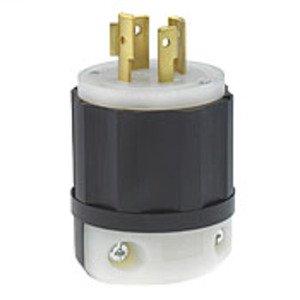 Leviton 2451 Locking Plug, 20A, 3PH Y 277/480V, 4P4W
