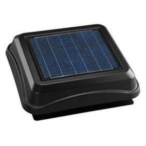 Broan 345SOBK Solar Powered Attic Ventilator, Black