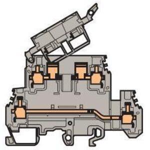 Entrelec 011564723 Fuse Holder Terminal Block, Type: M 4/8.D2.SFD
