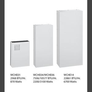 Hoffman WCHE14916002 Heat Exchanger, Side-mount/6700w/115v/type 12
