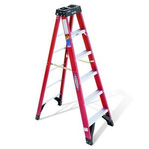 Werner Ladder 6306 6' Step Ladder, 375 lbs