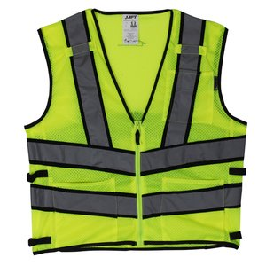 Lift Safety AV2-10LL Safety Vest, Viz-Pro 2 - Size: Large, Yellow