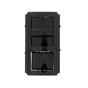 Leviton IPKIT-LNE Color Change Kits for IllumaTech Fluorescent Dimmer and Fan Speed Control - Black