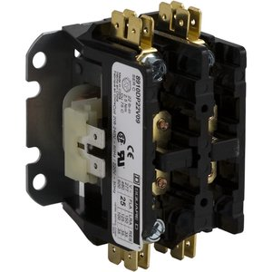 Square D 8910DP32V02 Contactor, Definite Purpose, 30A, 600VAC, 120VAC Coil, 1PH, 2P