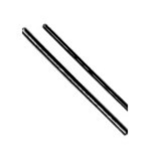 "Steel City R-628 All Threaded Rod, Zinc-Plated, 1/4"" x 6'"