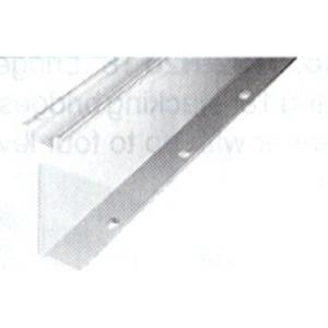 Allen-Bradley 1492-N44 DIN Rail, High Rise Mounting, 22.4mm x 7.6mm x 57.4mm x 1m, Alum.