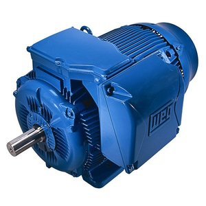 Weg 01518ET3E254T-W22 Motor, 4P, 15HP, 11kW, 1800RPM, 208-230/460VAC, Foot Mounted, 254/6T