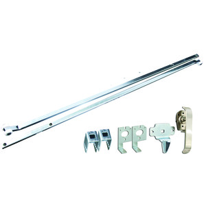 Hoffman AL36DR Latch Kit, Padlock, CW or CCW, 3 Point, Material/Finish: Stainless Steel
