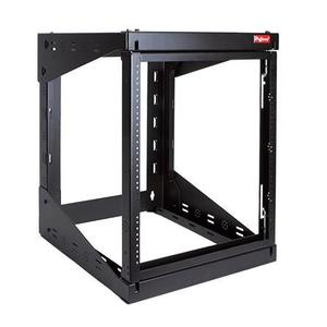 "Hoffman E19SWM12U24 Rack, Swing Out, Wall Mount, 12RMU, 27.795"" Hx20.91"" Wx24.29"" D"