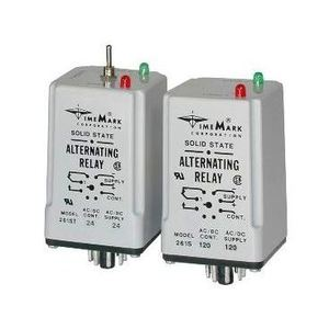 Time Mark 261DXT-120 Alternating Relay, Double Pole, 120V AC/DC Supply, 90-130V Range
