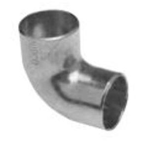 "Streamline W02390 Street Elbow, Short Radius, 90°, 4-1/8"", Copper"