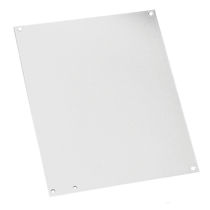 "Hoffman CP3024G Panel For Concept Enclosure, 30"" x 24"",  Steel/Galvanized"