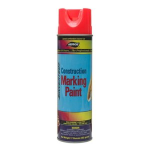 Dottie 252 Yellow Construction Marking Paint, 20 oz,  Aerosol