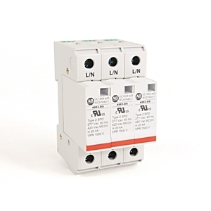 Allen-Bradley 4983-DS277-403 Surge Protection Device, 480Y/277VAC, 3P, Din Rail Mount, 1500V VPR