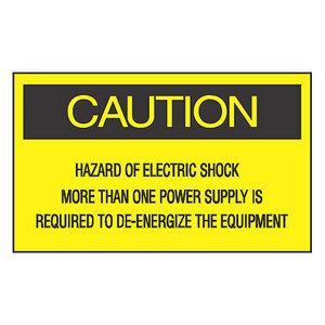 Panduit PLD-74 Label Dispenser, Polyester, 'Caution Haz